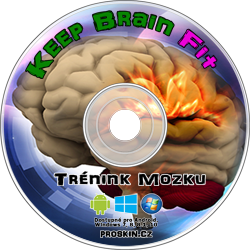 Keep Brain Fit tréning mozgu CD